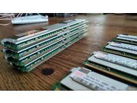 Server RAM - ECC, Buffered, 667MHz 4x1GB, 2 lots