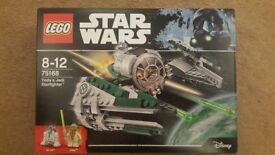 LEGO Star Wars 75168 Yoda's Jedi Starfighter RETIRED