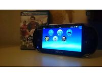 Sony ps vita +2 games memory card