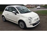 Fiat 500, 2009, Stunning White, 71000 miles, Service History