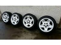 """18"""" land rover mondials. Good tyres. Vw, audi, jetta, bora, gilf"""