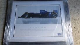 F1 collectors items. Genuine items owned by F1 mechanic.