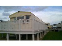 Blue dolphin 8 berth 3 bedroom deluxe caravan hire