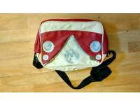 2 bags for sale, VW Shoulder bag and Chupa Chups holdall retro shabby chic
