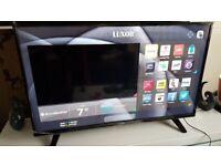 LUXOR 49 INCH 4K TV SUPER Smart HD TV,built in Wifi,Freeview HD, NETFLIX.