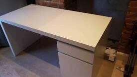 IKEA Malm Desk- White
