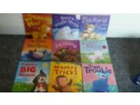 Bundle off 9 kids books