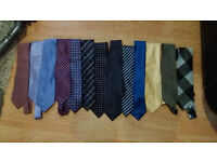 Selection of 13 Mens Ties