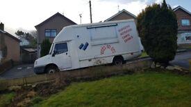 LDV Convoy Burger van / Chip van / Catering / Hot food Van Full 5 star rating 1year MOT Ready to go