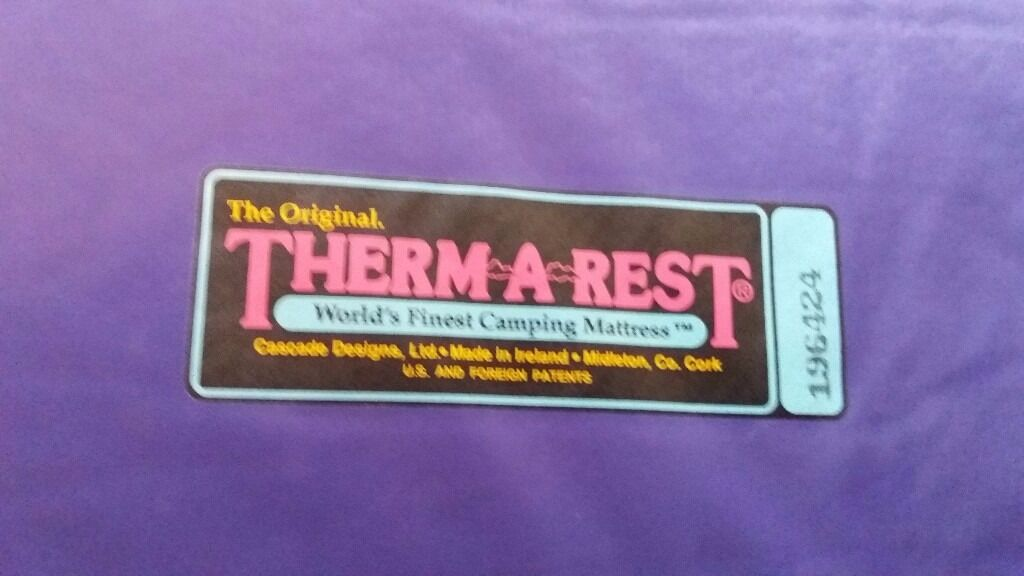 THERM-A-REST - Purple BaseCamp - Sleeping pad 14 ono