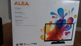 Brand new still sealed Alba 19inch tv