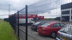 V Fold Wire Mesh Security Fencing