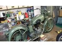 1937 royal Enfield 500 model j