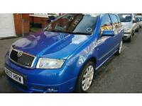 2007 SKODA FABIA VRS LIMITED EDITION NUMBER 745 FSH LEATHER HPI CLEAR 1 OWNER BARGAIN £1695 ONO