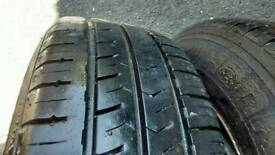 VW T5 wheels and tyres