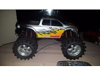 Rc Traxxas emaxx monster truck for sale or swap
