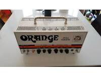 Orange Dual Terror with footswitch and carry case (perfect condition)