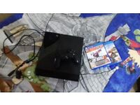 Ps4 with pad few games