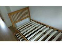 Wood bed