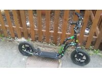 Skoota kids retro offroad scooter excellent condition