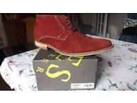 Jones The Boot Makers. Suede Boot