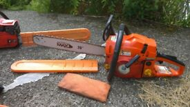 Chainsaw CS5800 plus another for spares