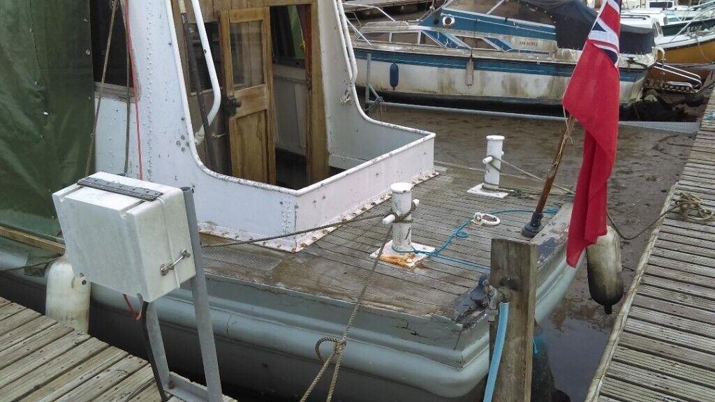 ad6a6ed9b28b7 34ft Boat project. Southampton ...