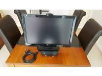 "21.6""W TFT LCD PC Monitor inc usb Webcam and usb Speaker"