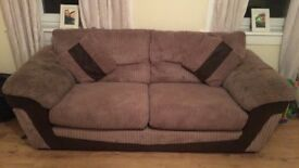 *REDUCED* 3+2 seater sofas