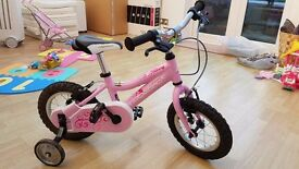Girls Ridgeback Minny, pink, 12inch wheels