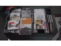 approx 150 cds from 1990s and 200s various artists, excellent condition