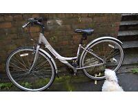 womans hybrid bike