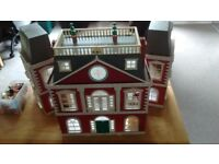 Sylvanian families hotel and accessories