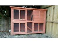 Rabbit hutch / Guinea-pigs