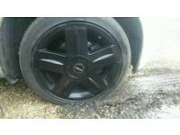 "Renault Clio / Nissan Micra 16"" Alloy Wheels and tyres"