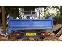Ford Transit Tipper 2001 - Spares or Repair. Excellent tipper bed.