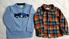 Next and M&Co Jumper and Shirt VGC