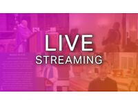 Live Streaming Video Service (Events, Weddings, Funerals, Conferences and More)