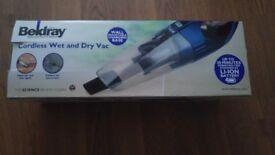 Beldrey cordless wet and dry vacuum