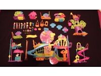 Huge Polly Pocket Wall Party Bundle