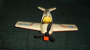 Fisher Price  vintage plane with pilot,