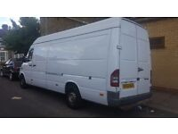Mercedea sprinter 311 cdi 2002 lwb large no rust or damage very clean van taxed and mot