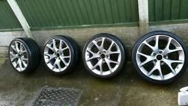Corsa VXR 18inch alloys
