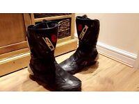 Sidi motorcycle boots size 46 uk 11