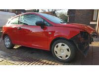 2013 SEAT IBIZA S AC DAMAGED SALVAGE REPARABLE