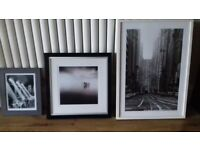 IKEA Framed Pictures x 3
