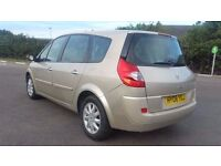 7 SEATER RENAULT GRAND SCENIC 1.6 MANUAL IN TOP CONDITION. LONG MOT. 2 OWNERS. FULL SERVICE HISTORY
