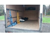 MAN WITH LARGE LUTON VAN FOR HIRE RELIABLE AND EXPERIENCED COMPLETE WITH TAILIFT FOR HEAVIER ITEMS