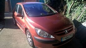 Peugeot 307 2004 needs brake repair hence low price
