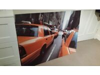 Canvas print (picture of New York taxis)